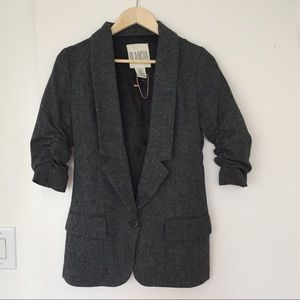BB Dakota | fun oversized tweed blazer
